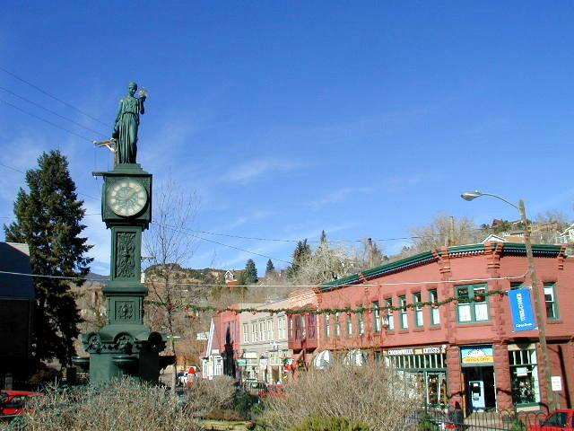 Manitou Springs (CO) United States  city photo : GMT 格林威治时间 马尼图斯普林斯,二氧化碳, 美国 ...
