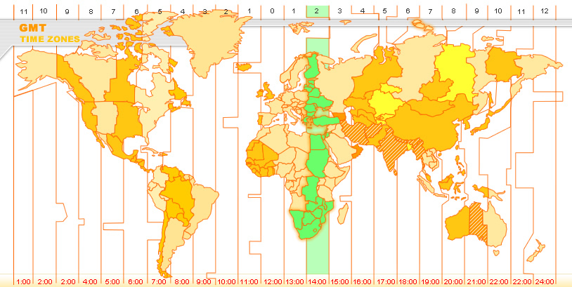 Eastern Standard Time Zone